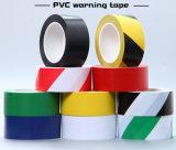 Rote weiße Sperre Belüftung-Tiefbauvorsicht-Sicherheits-Band-Fußboden-Markierung