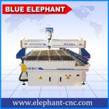 Asse di lunga vita 4, macchina di scultura di legno di CNC 3D, CNC del router 1325 di CNC del Engraver del router di CNC di 4 assi con l'asse di rotazione dell'Italia Hsd