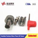 De stevige CNC van het Carbide van het Wolfram van de anti-Schok Steel van het Malen met droeg Arborn en Boorstaaf