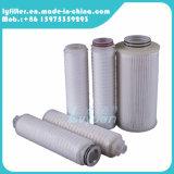Absoluto filtro de membrana plisado 5 micrones con el casquillo de extremo