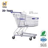 Como100d 100L Carrinho de Compras de supermercado de Metal