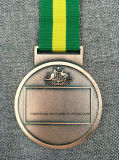 Медаль металла конструкции клиента с тесемкой