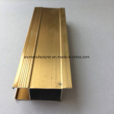 Quadrat, rundes, unterschiedliches Aluminiumlegierung-Strangpresßling-Profil für Tür und Fenster-Gefäß 23