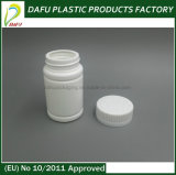 bottiglia di plastica della medicina dell'HDPE 80ml con la protezione di plastica