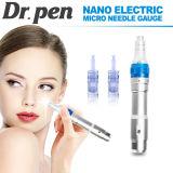 O Dr. médico o mais novo Pena Derma Pena A6 com as duas baterias substituíveis Dermapen