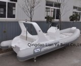 Barco inflable China del barco rígido del casco de PVC/Hypalon de Liya 20 '
