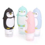 Безопасности от утечек Eco-Friendily Squeezable многоцветные Пингвин силиконового герметика косметический поездки расширительного бачка