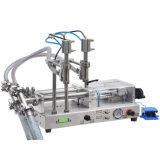 Mzh-F de doble boquilla Semi-automático Máquina de Llenado de líquido