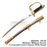 Decorazione medioevale 30cm HK8398 della Tabella delle spade delle spade del cavaliere apri di lettera