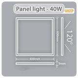 Illuminazione commerciale 18W, 24W, soffitto del comitato 40W