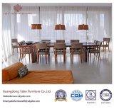 Mobília de madeira do hotel para a sala de jantar com jantar da cadeira (YB-833)