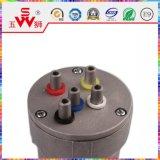Motor eléctrico a estrenar del claxon para las piezas del alimentador