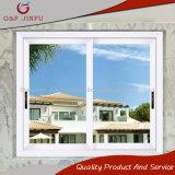 Doble acristalamiento de aluminio de alta calidad ecológica de la ventana deslizante