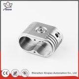 Inspecção completa de peças de moagem de metal de alta precisão de usinagem CNC de alumínio