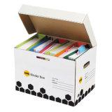Boîte d'emballage en carton ondulé personnalisé pour le fichier de l'emballage