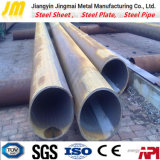 Tubo d'acciaio di ASTM A106/tubo saldati ERW per materiale da costruzione