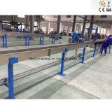 Línea de la máquina de la protuberancia de cable coaxial de la comprobación de los datos del PE que hace espuma