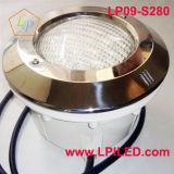 Voyant LED situé sous l'eau de piscine LED lumière 280mm en acier inoxydable (LP09-S280)