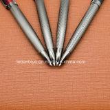 선물 (LT-E120)를 위한 호화스러운 금속구 펜 주문 로고