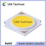 120-130lm/W 15-17V weißes 5W PFEILER LED Chip für Innenbeleuchtung