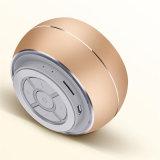 Círculo de metal de aleación de mini reproductor de Karaoke portátil Bluetooth Wireless altavoces de alta fidelidad.