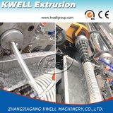 cadena de producción espiral del manguito del PVC de 12-200m m, estirador del manguito del abastecimiento de agua