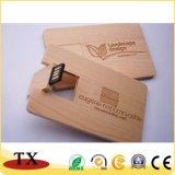 카드 USB와 USB 섬광을%s 나무로 되는 USB 드라이브