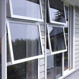 Aluminio de calidad superior de la doble vidriera para arriba abajo de la ventana de cristal del toldo de la devanadera