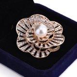 Brooch dei monili di modo del fiore della perla