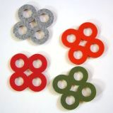 A fábrica Pirce 100% Montanha Russa de feltro para decoração e copos sentida Coasters