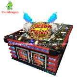 Macchina di gioco del gioco di pesca della galleria del cacciatore dei pesci del drago di tuono della Tabella del gioco dei pesci