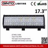 barre d'éclairage LED du CREE 17.3inch pour la grue/excavatrice concevant les véhicules tous terrains