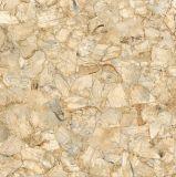 60X60白い大理石の一見の光沢のある艶をかけられた完全な磨かれた磁器の床タイル