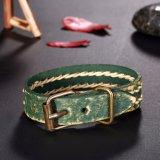 Aleación de joyas de moda Unisex ajustable Pulsera Brazalete de cuero auténtico