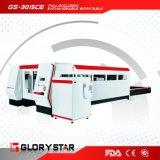 [Glorystar] ha accluso il tipo taglierina del metallo del laser della fibra ai doppi Worktables dell'interruttore