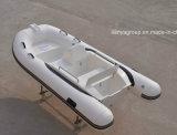 Bateau de vitesse de bateau de côte de bateau de pêche de fibre de verre de Liya 3.3m petit