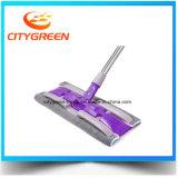 Traitement d'acier inoxydable nettoyant la lavette plate de Microfiber de lavette