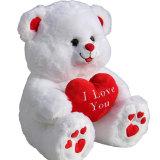 Zachte draagt Bont van de Giften van de valentijnskaart Stuk speelgoed voor Meisjes