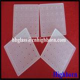 Lastra di vetro quadrata glassata del quarzo del silicone di elevata purezza