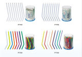 Extremidades disponibles dentales de tres vías coloridas de la jeringuilla