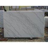 Mattonelle di marmo bianche di Guangxi per la pavimentazione o la parete/mattonelle di marmo bianche/mattonelle di marmo cinesi/le mattonelle del marmo bianco cinese
