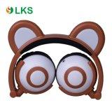 Écouteur d'oreille d'ours de couleur de Chargable pour le cadeau de Noël d'enfants