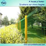 Гальванизированная Coated декоративная загородка граници сада