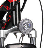 bicicleta de montanha gorda elétrica do pneu da potência verde de 750W 48V