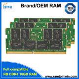 Joinwin продажи с возможностью горячей замены модулей памяти DDR4 надувные оперативную память для ноутбука I7 16ГБ