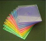 Caja de almacenamiento de CD CD CD Caja de almacenamiento de cubierta de almacenamiento de 5,2 mm delgado con bandeja de Color