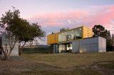 오스트레일리아 표준 Prefabricated 모듈 건물 집, 강철 구조물 프레임의 콘테이너 집