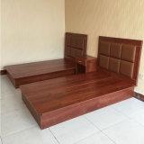 切り分けられた木製の頭板のホテルの家具ドバイ
