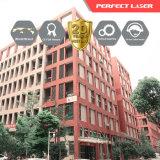 Tagliatrice industriale del laser della fibra del metallo dell'oro ss di CNC