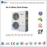 Тепловой насос с воздушным охлаждением для использования горячей воды комнате радиатор